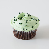 chocolate-mint-cupcake